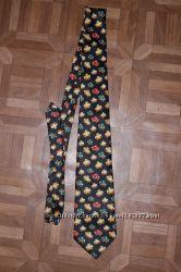 Фирменный итальянский галстук Rene Chagal, шелк.
