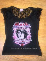 Модная ажурная футболка Tammy