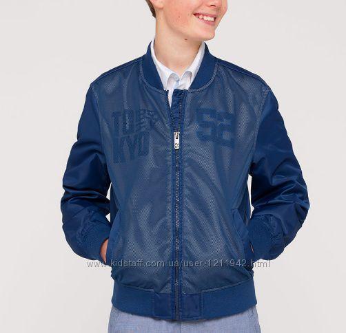 Стильная куртка ветровка на мальчика С&A Here&There 134-158