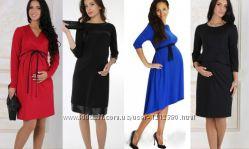 Недорогие платья для беременных. 4 цвета