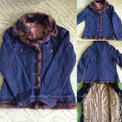 Джинмовая курточка