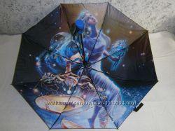 Зонт женский полуавтомат знаки зодиака