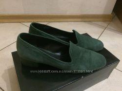 Туфли замшевые зеленые р 37 Jet Set