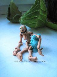 Класнючая игрушка для ребенка. Скелетик подвижный .