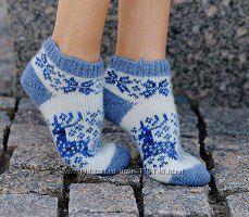 Носки низкие толстые, 90 процентов шерсть