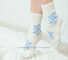 Носки женские красивенные, 90 процентов шерсть