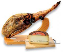 Подарочный набор Хамон Гран Селекшион 7, 5 кг и сыр 1, 5 кг