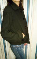 Пальто  кашемировое, черное