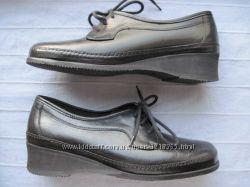 Sioux 37, 5, 24 см кожаные туфли женские