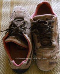 Кроссовки Puma винтажные замшевые , размер 38.