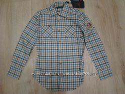 Новые качественные рубашки Benetton Tom Tailor