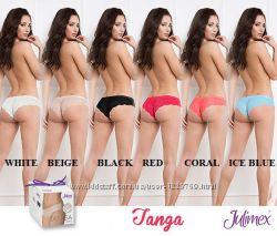 Женские бесшовные трусики Julimex Tanga Panty