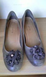 Туфли женские, кожаные Тamaris