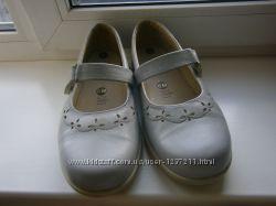 Новые кожаные туфли easy англия на очень широкую ногу 39 размер