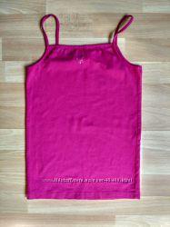 Летняя маечка и юбочка розового цвета на рост 152