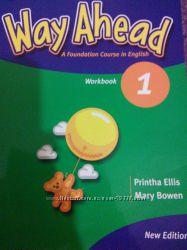 Тетрадь и учебник Way Ahead 1, 2 часть