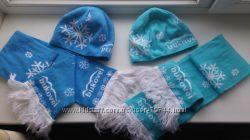 Комплекты шапка и шарф BUKOVEL на мальчика, размер 46-52