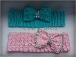 Вязанные повязки ручной работы