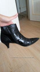 Ботиночки на маленьком каблучке из очень мягкой кожи