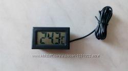 Цифровой термометр градусник с LCD и выносным датчиком
