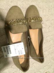 Новые туфли  балетки H&M