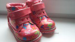 Демисезонные ботиночки для девочек р-р 22-27