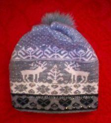 Женская зимняя шапка очень теплая