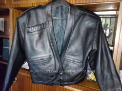Куртка шкіряна демісезонна