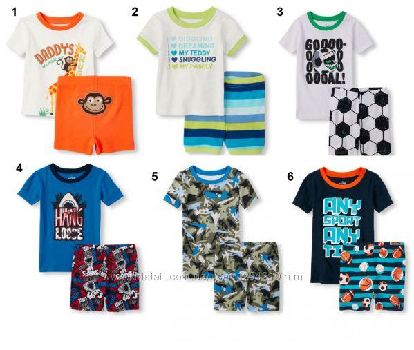Пижамки для мальчик, комплекты для дома и улицы Childrens Place 12мес-5лет