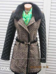 Модное демисезонное пальто.