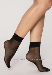 Неубиваемые черные капроновые носки качество матовые