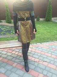 Стильное женское модное пальто брендовое Meemileid недорого с поясом