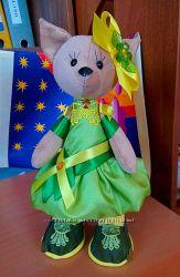 Текстильная игрушка Кошка Дашенька
