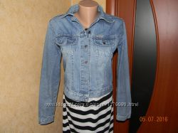 джинсовая куртка 10-18размер