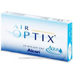 Контактные линзы Air Optix Aqua 100 грнлинза airoptix hydraglyde