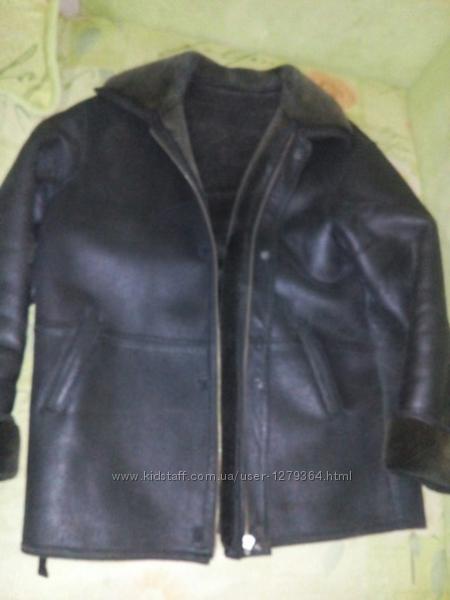 мужская куртка дубленка 58-60 ХХХХХL