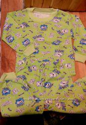 Пижама байка мальчикам и девочкам на 1-4 года Турция