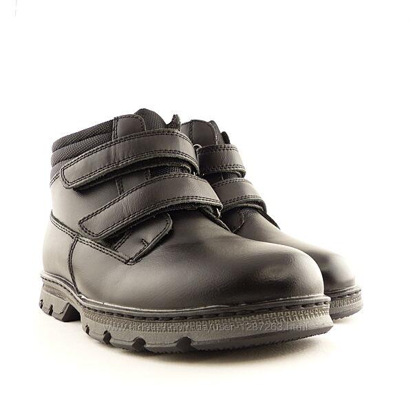 Зимние кожаные ботинки kangfu 31-36р 609530,19
