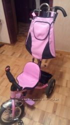 Трехколесный велосипед Mini Trike розовый