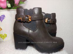 Ботинки 38 р новые супер модные