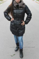 зимняя куртка на синтепоне теплая reserved