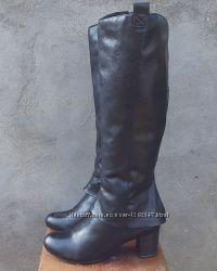 Кожаные демисезонные сапоги ботинки Jana 40, 5-41 р.