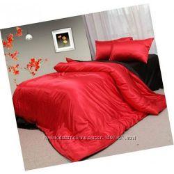 Атласный постельный комплект нет в наличии
