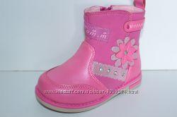 Демисезонные ортопедические ботинки на девочку тм Tom. M, р. 22, 23, 24, 25, 26