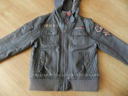 Куртка кожаная. C&A. Размер 110. И подарок.