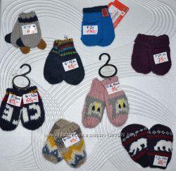Детские перчатки и варежки для детей Disney FOX George Primark 0-16л