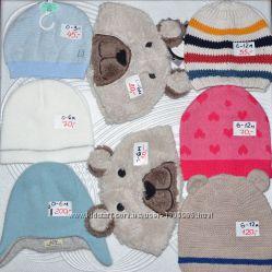 Детские шапки Disney FOX F&F H&M Gap Early days George Primark 0-16л
