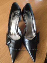 Туфли женские кожанные 36 размера