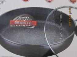 Сковородка PETERHOF гранитное покрытие.