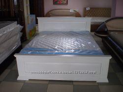 Ліжко Класика New масив  дуба